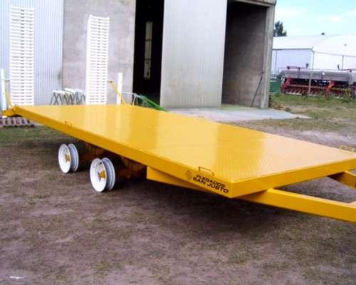 Carretón para Transportar Máquinas y Vehículos