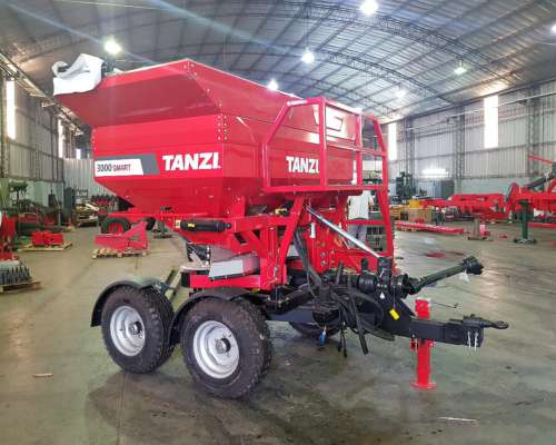 Fertilizadora Tanzi Superflow 3000 36 Metros