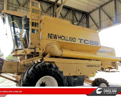 Cosechadora New Holland TC 59 año 1997