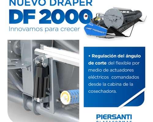 Draper DF 2000 Versión 2020 - Evolucionado