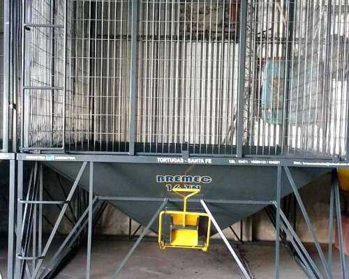 Silo Semillero Bremec Base Cuadrada