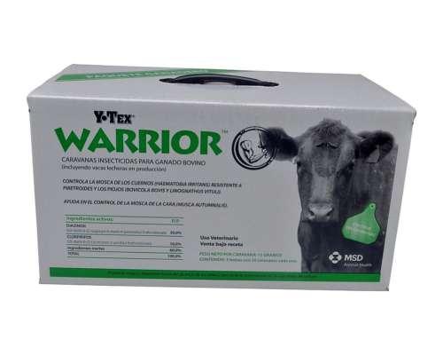 Antiparasitario Warrior X Unid.
