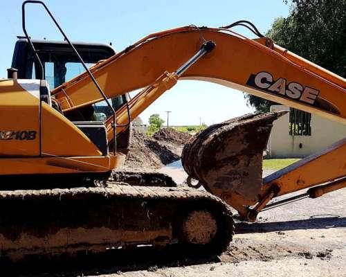 Excelente Excavadora Sobre Orugas Case