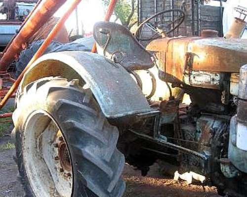 Tractor MAN Antiguo Original DT