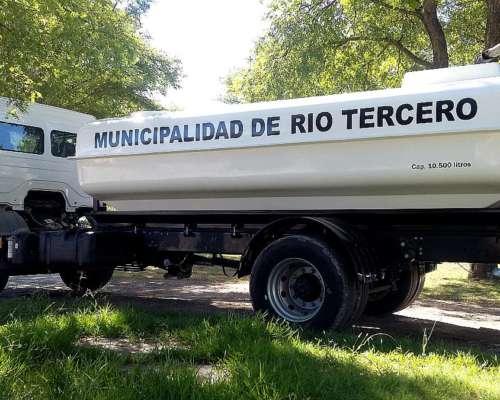 Tanque Riego Sobre Camión Argenplast