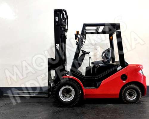 Autoelevador Royal Diesel 2500 Kg Duales Desplazador 0km