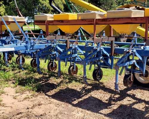 Escardillo Agroindustrial de 10 Surcos