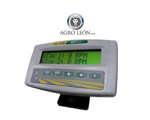 Monitor de Siembra Control Agro Cas2700 C/gps