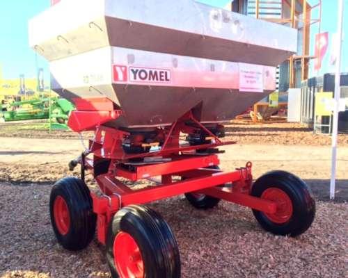 Fertilizadora Yomel RD 3036z Acero Inoxidable con Banderille