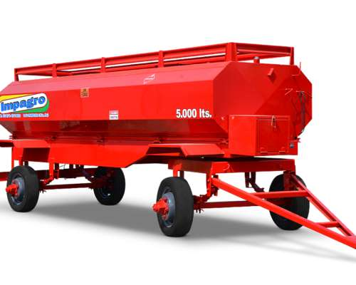 Acoplado Tanque De Combustible De 5000 Lts Impagro