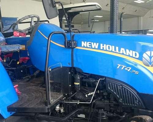 New Holland TT4.75 Tracción Doble. Nuevo Sinuso.