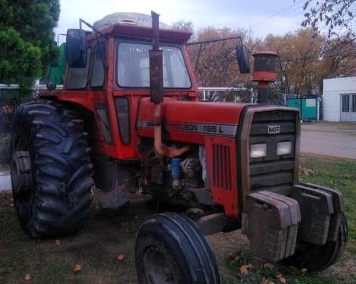 Tractor Massey Ferguson 1195 - Simple Tracción - año 1985