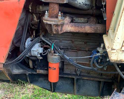 Tractor Zanello 220 Naranja