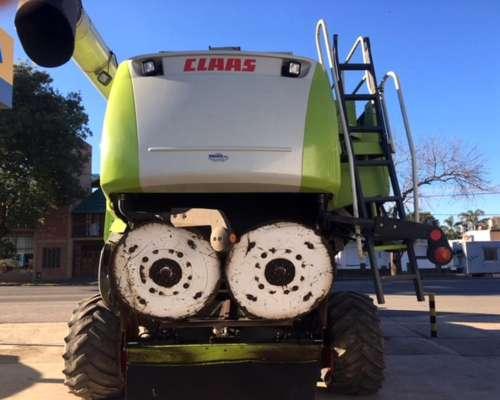 Claas Lexion 580 AÑO 2004 Plataf. de 35 Pies Motor M. Benz