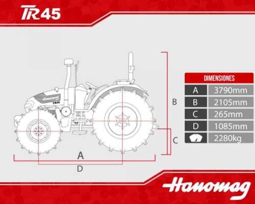 Tractor Hanomag Modelo TR45