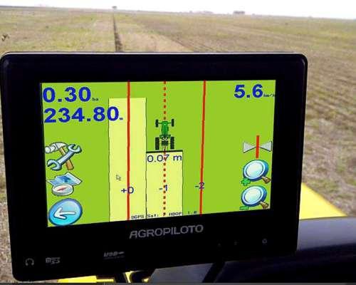 Mapeador Agropiloto G-700 con Receptor Gnss
