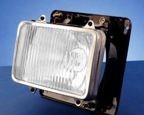 Óptica L 1516/oh 1314 / 1418 Luz Baja Con Aro De Acero Inoxi
