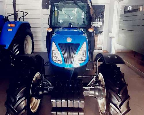 Tractor New Holland T4.105f 4wd Cabinado - 0km