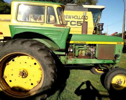 Tractor John Deere 3530 con Duales