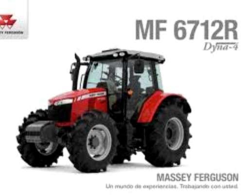 Massey Ferguson 6712r DYNA-4