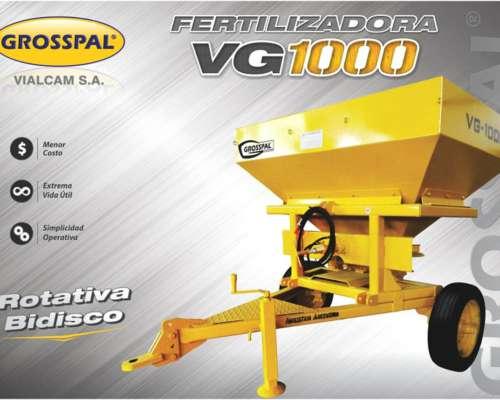 Fertilizadora VG 1000 3 Puntos - Grosspal