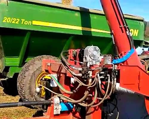 Extractora de Granos Barra de Mando