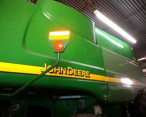 John Deere 9860, 2007, Americana, Plataforma de 35 sin Fin