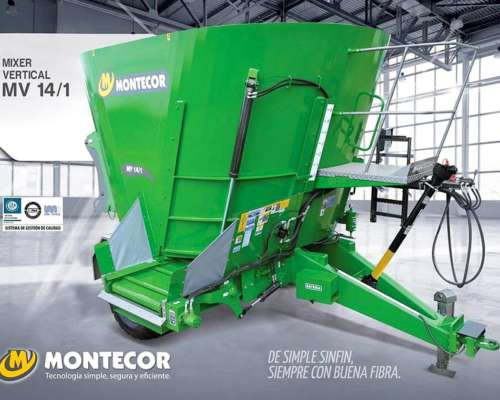 Mixers Horizontales Montecor. Disponibles
