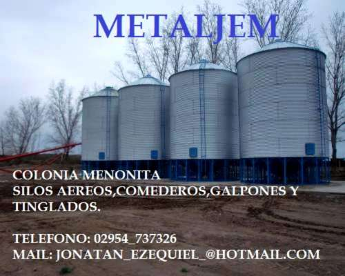 Silos Aéreos Directo de Fabrica.colonia Menonita la Pampa