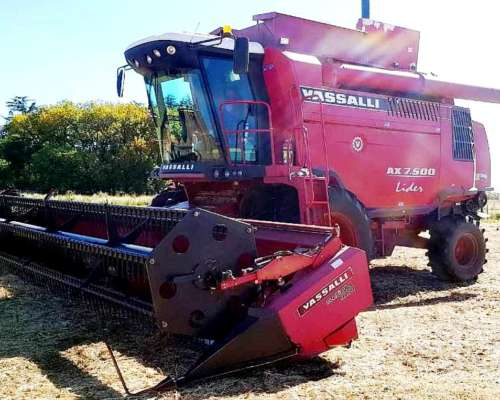 Cosechadora Vassalli AX 7500 Lider - año 2012