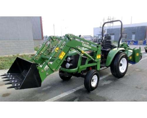 Tractor Parquero 30 HP Tipo Hanomag