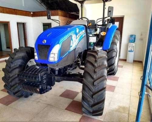 Tractor New Holland TD5.110 - año 2017 - 0km Stock Propio