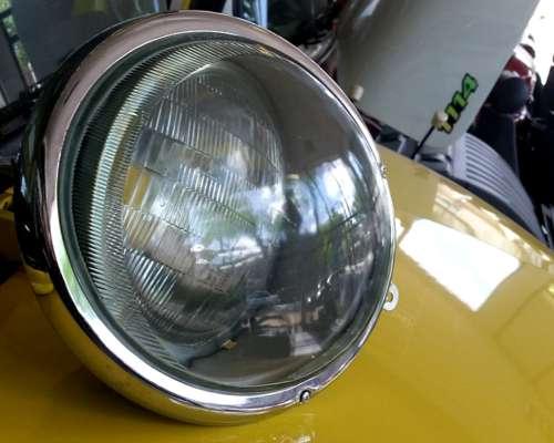 Optica Mercedes Benz 1114 Faro Farol 1518 Vidrio Doble Aro