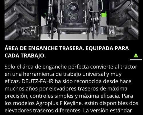 Deutz Fahr Agroplus F 80.4 Keyline