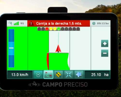 Banderillero Mapeador Satelital Campo Preciso Cp575 Nitro