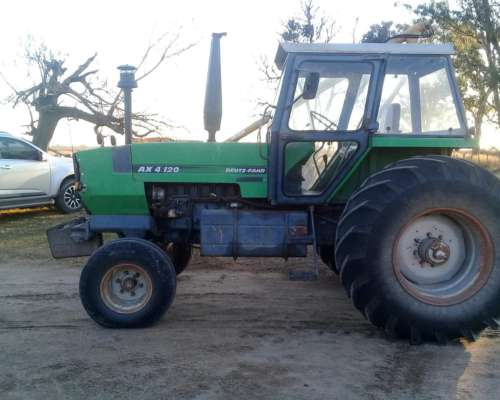 Deutz Fahr AX 4.120 Tracción Simple. Doble Embrague