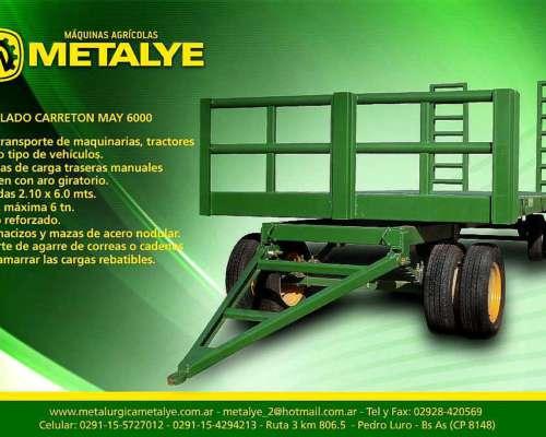 Carreton -trailer para Tranporte de Maquinas Agricolas y OTR