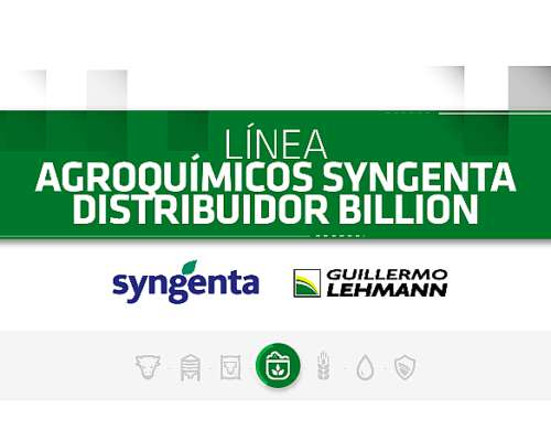Agroquímicos - Línea Syngenta Distribuidor Billion