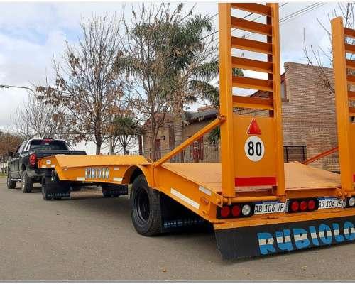 Acoplado Carreton Vial Homologado para 15 TN. Dos Ejes