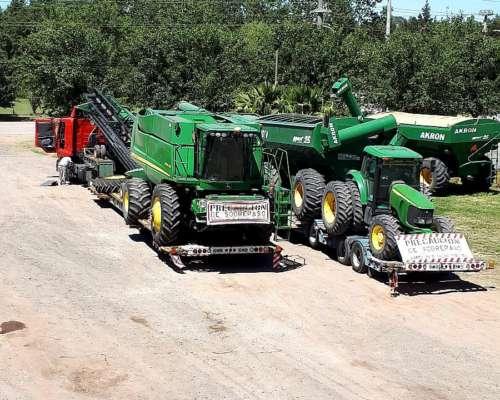 Transporte de Maquinarias Agricolas/john Deere/case/nholand/