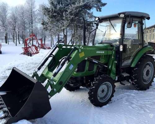 Tractor Doble Tracción C/ Cabina 50 Hp