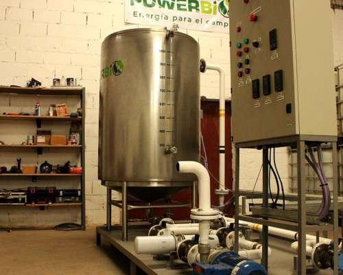 Plantas de Producción de Biodiesel para Auto Consumo