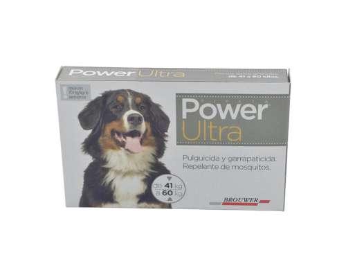 Antiparasitario Power Ultra 41 a 60 KGS
