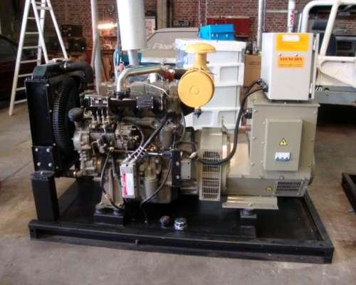 Grupo Electrógeno Diesel 70 KVA New Holland
