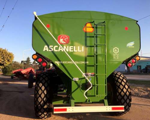 Autodescargable Ascanelli 22tt- Disponible Verde John Deere