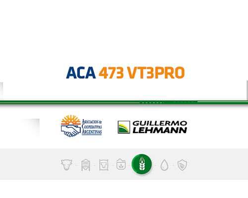 Aca 473 VT3 PRO - Híbrido de Maíz