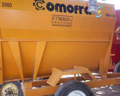 Mixer Comofra SF2000 de 4mts3 Entrega Inmediata 12 Cuotas