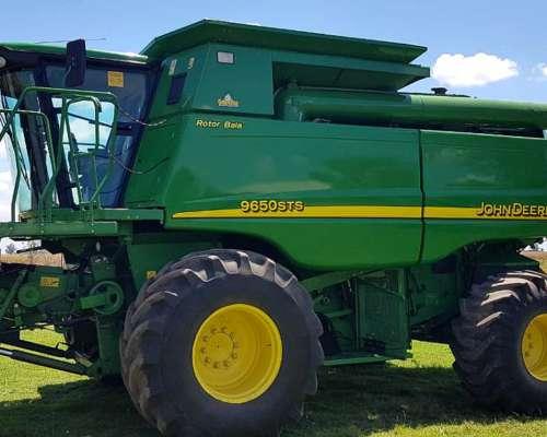 Cosechadora John Deere 9650 Sts Año 2007
