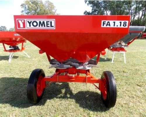Fertilizadora Yomel FA 1.18 de Arrastre / Tres Puntos