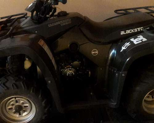Cuatriciclo Blackstone BKS300 4v - 2.010 / Trailer Incluido